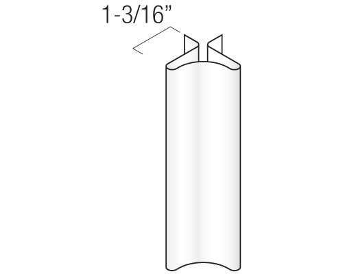 """6"""" Insulated Traditional Corner Post"""