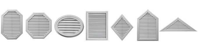 Gable Vents (Special Order)