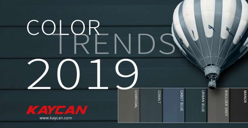 kaycan vinyl siding color trends