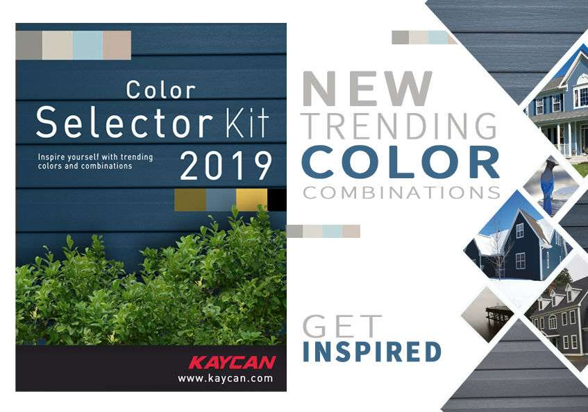 Kaycan Vinyl Siding Color Selector Kit