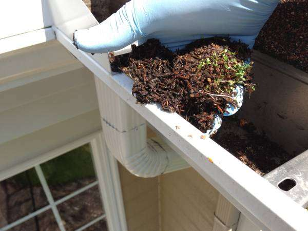 No more cleaning gutters